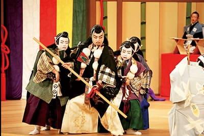 Japan Children's Kabuki Festivalin Komatsu