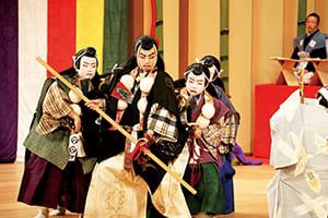 Japan Children's Kabuki Festival in Komatsu